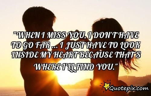 I miss you quotes for girlfriend