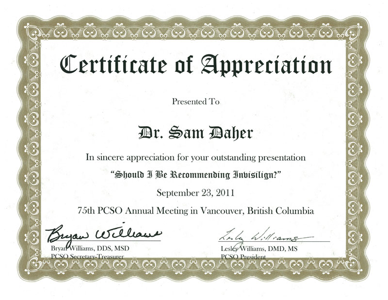 Sample certificate of appreciation for a guest speaker images quotes about certificates 63 quotes yadclub Choice Image