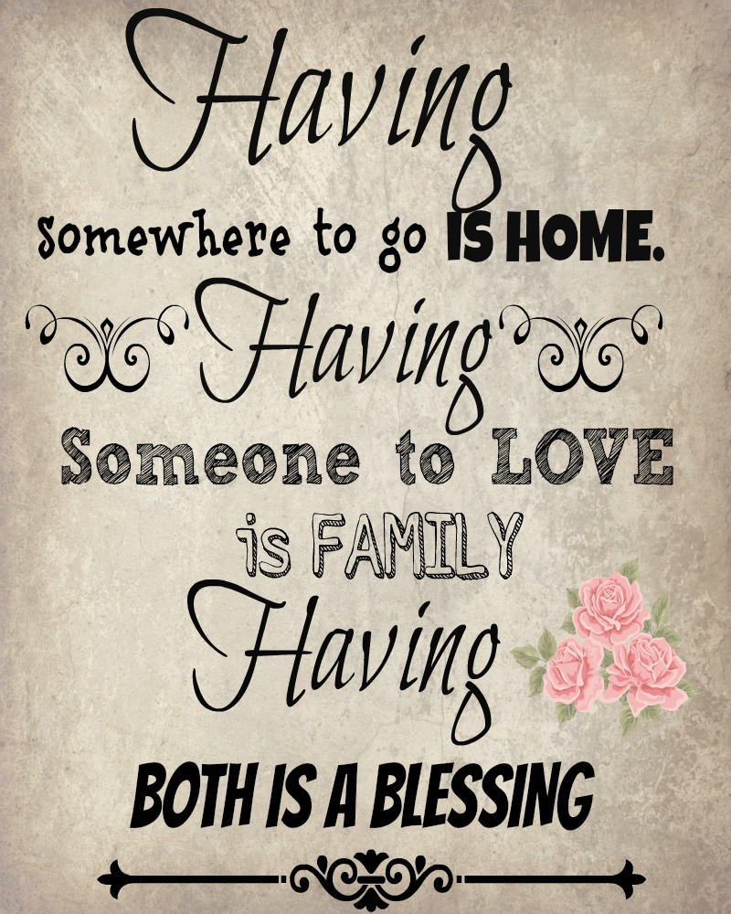 Quotes About Family Home 243 Quotes