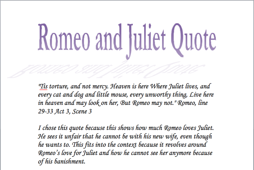romeo and juliet gender essay Romeo and juliet speak briefly together and immediately fall in love  juliet's nurse finds romeo and he tells her that he and juliet are going to get romeo and juliet discuss how shakespeare represents romeo and juliet as a pair of star crossed lovers during the course of the play during.