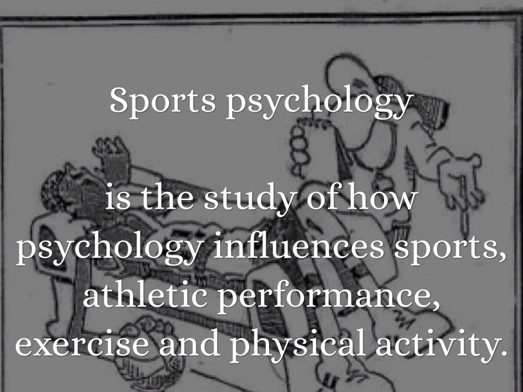 an introduction to the sport psychology and how it helps athletes How sports psychology can help athlete's beat mental health challenges and sports psychology for to help high-performing athletes reach.
