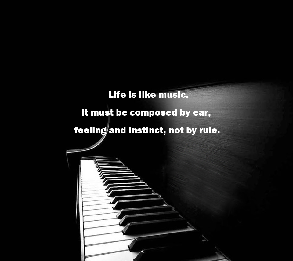 Quotes About Music And Life 598 Quotes
