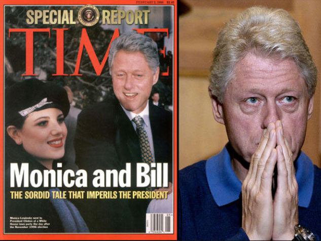 an introduction to the scandal of president clinton and monica lewinsky Watch video monica lewinsky credit damon winter none of us had the maturity to understand the complexities, or power dynamics, of the president's affair with a young.