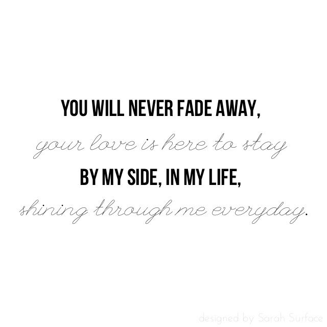 Quotes about Staying by my side (24 quotes)