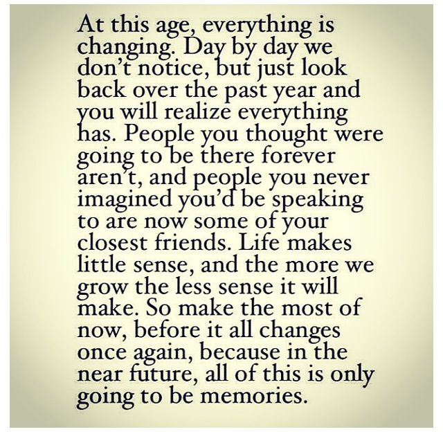 Quotes About Age And Change (75 Quotes