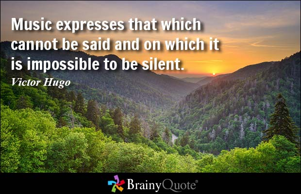 Quotes About Silence In Music 98 Quotes