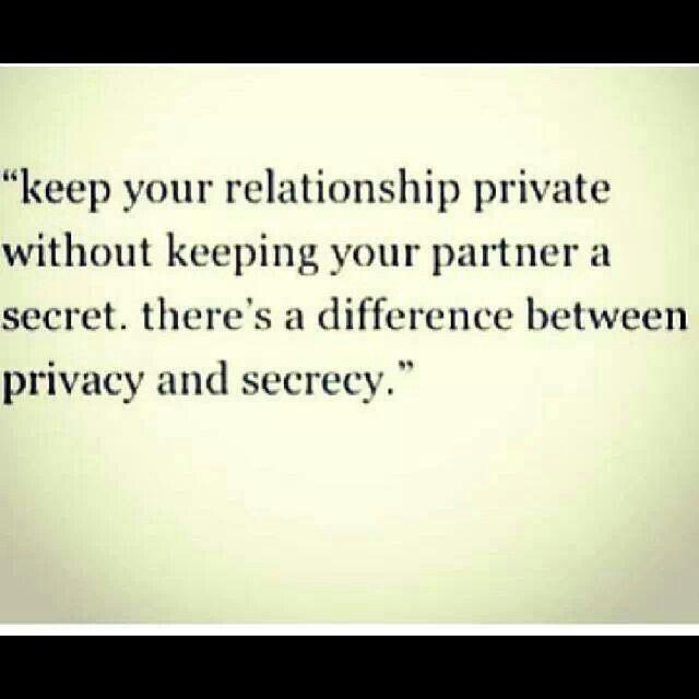 secrets to a good relationship