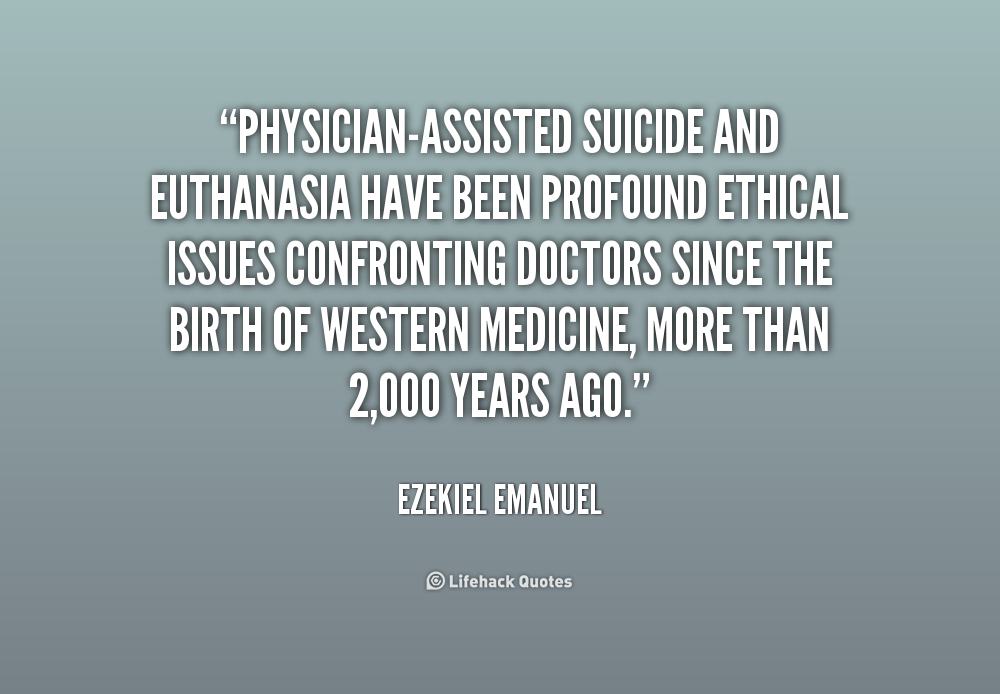 physician assisted suicide good or bad