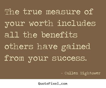 Quotes About Measurement Of Success 24 Quotes