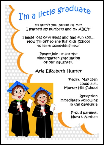 kindergarten graduation speech If you've earned the prestigious honor of delivering the class graduation speech  no child in kindergarten is asked to give a graduation speeches.