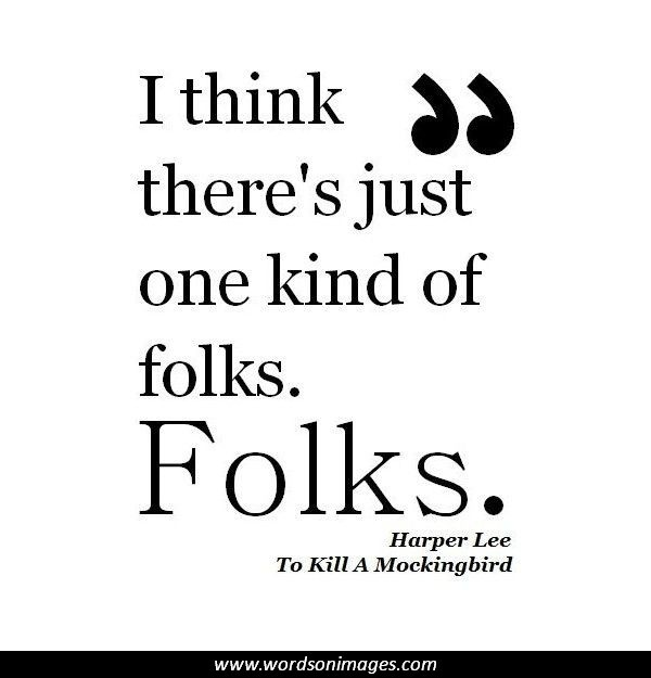to kill a mockingbird quotes and