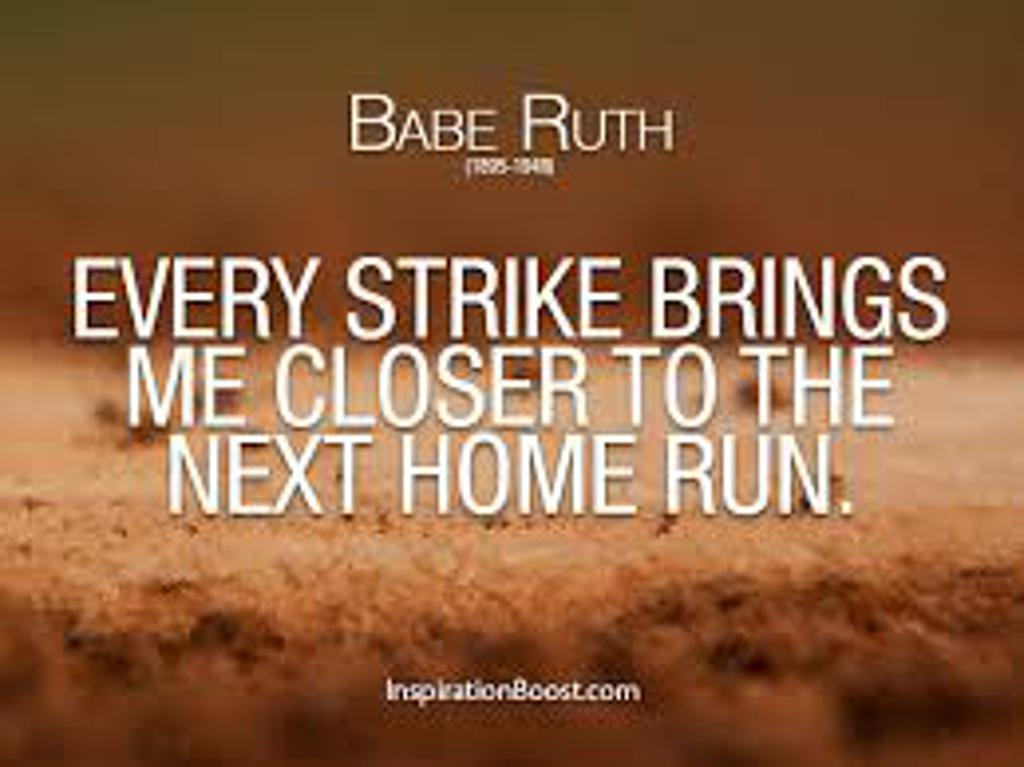 Quotes About Baseball And Success 60 Quotes Enchanting Baseball Quote