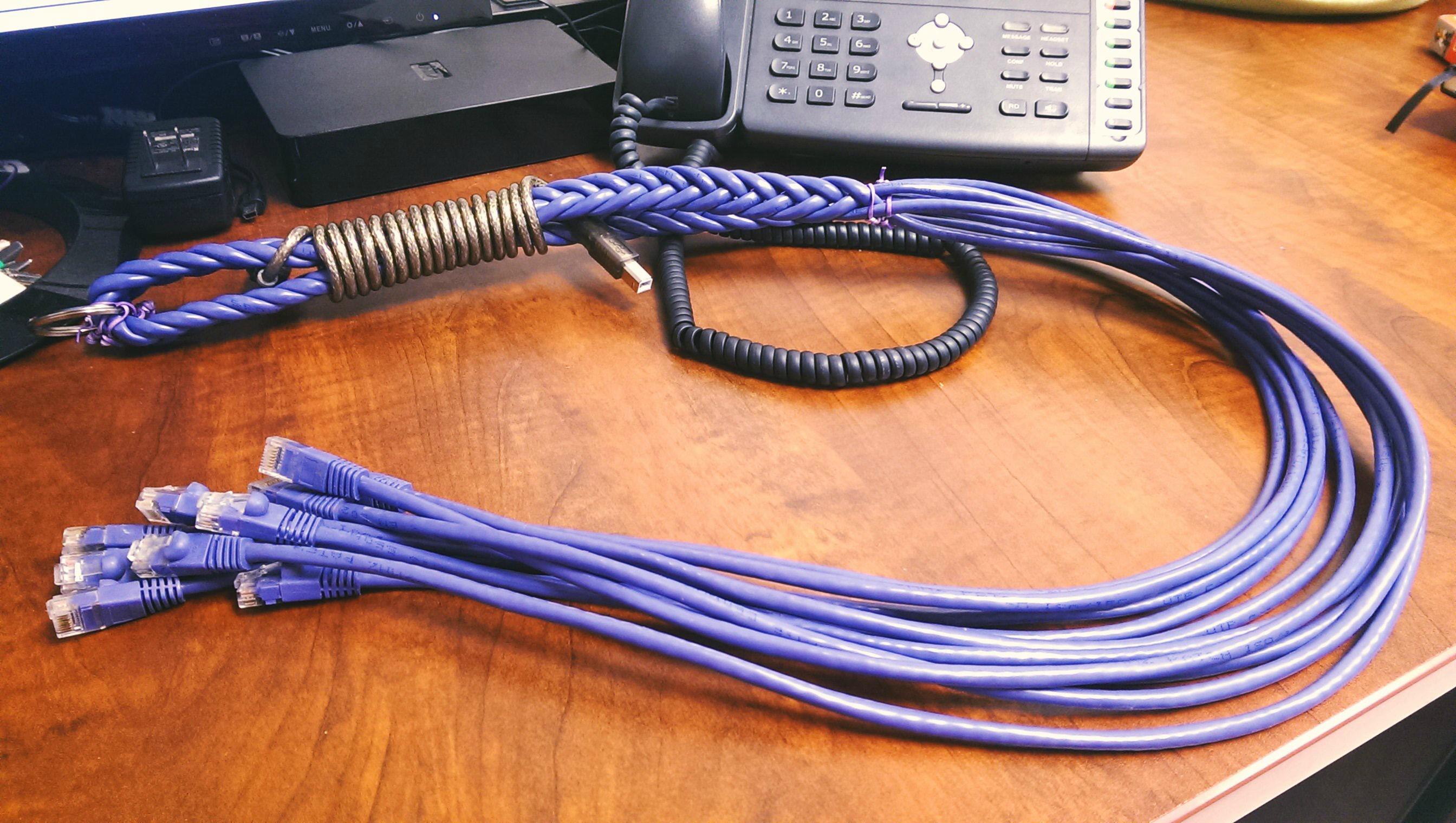 Телевизионного кабеля своими руками