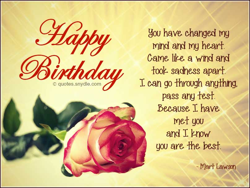 Quotes About Boyfriend Birthday 52 Quotes