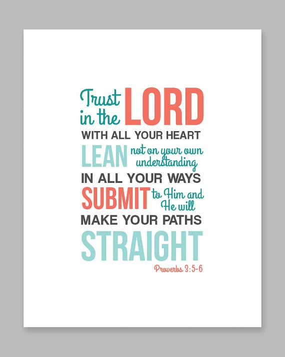 Quotes About Trust Bible 60 Quotes Enchanting Trust In The Lord Quotes