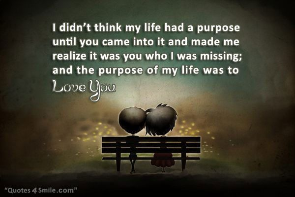 Quotes About What Is The Purpose Of Life 60 Quotes Custom Love Of My Life Quotes For Her