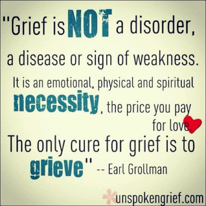 Quotes about grief