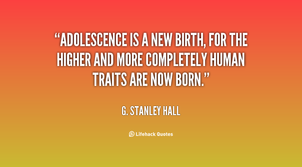 about adolescence