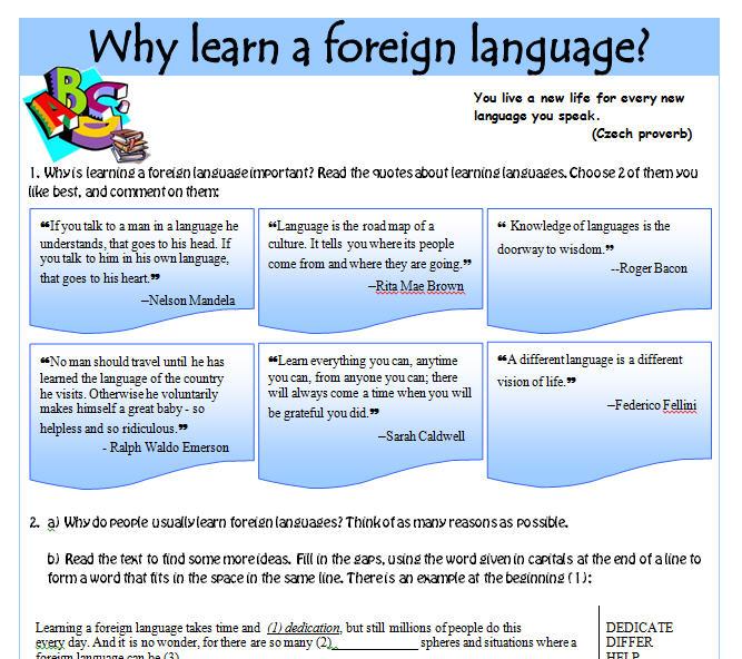 non english speaking people essay