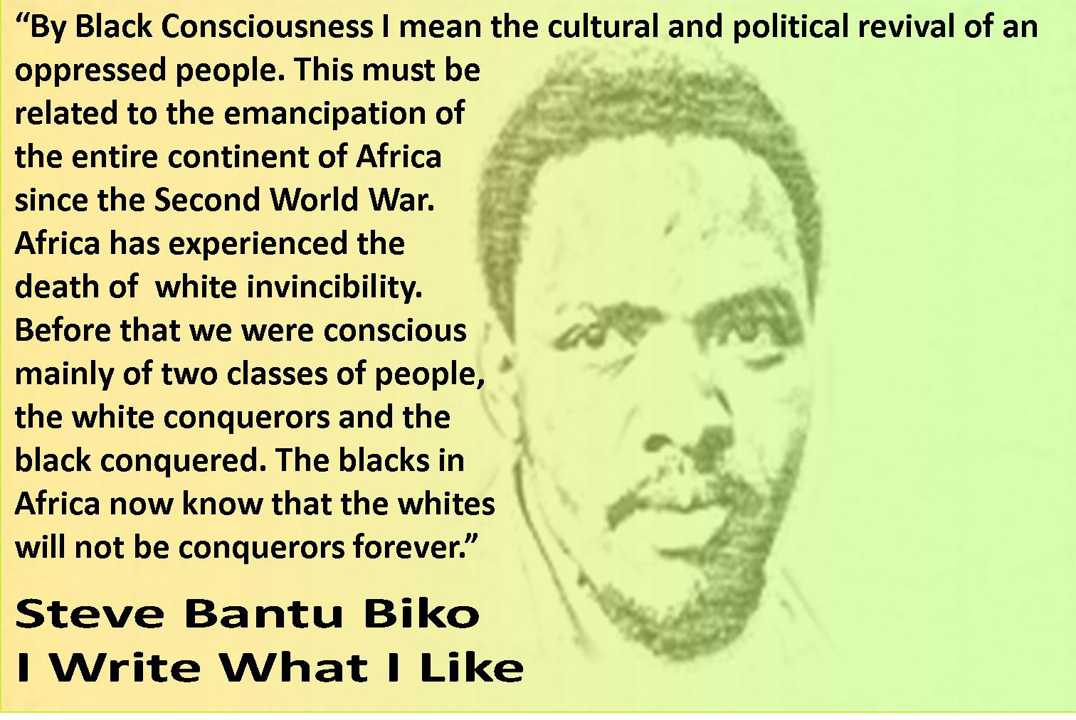 black consciousness essays