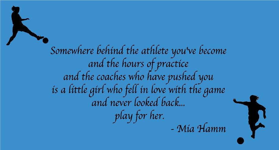 Quotes about Girl athletes (32 quotes)