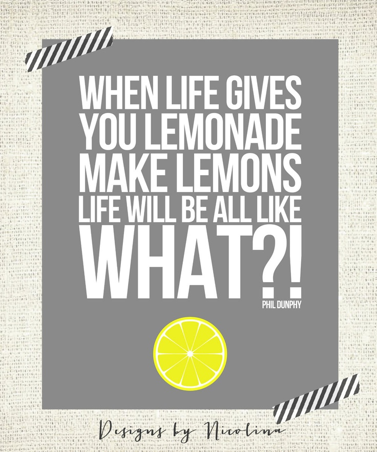Quotes About Lemons