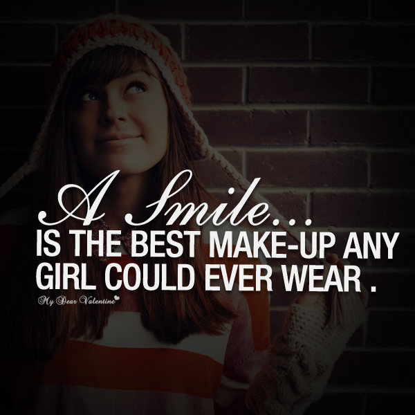 Quotes About Girlfriends Smile 23 Quotes