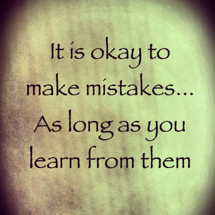 learning from mistakes essay