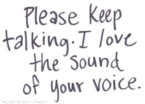 how to know if u have a good voice