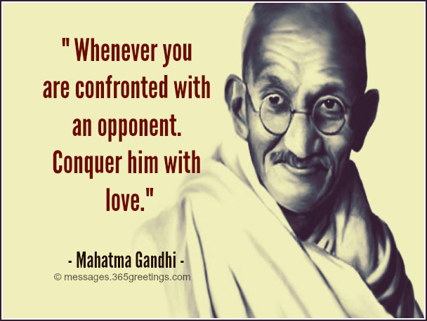 Gandhi Quotes On Peace | Quotes About Peace From Gandhi 17 Quotes