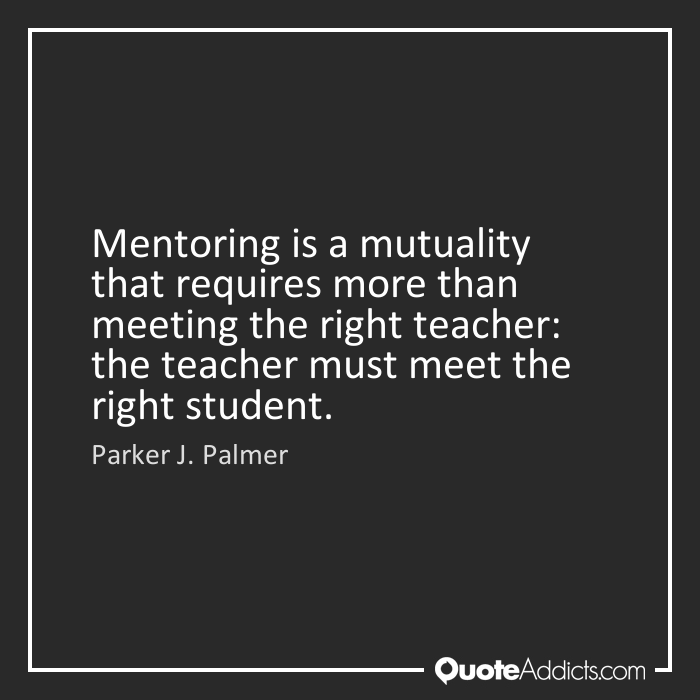 Dating quotes about mentors