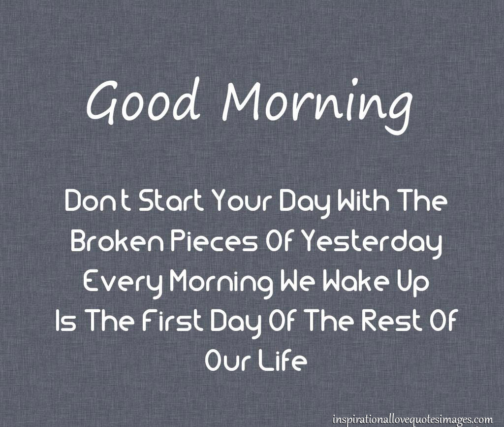 Quotes About Good Morning Love 54 Quotes