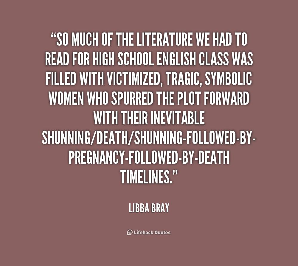 death in literature