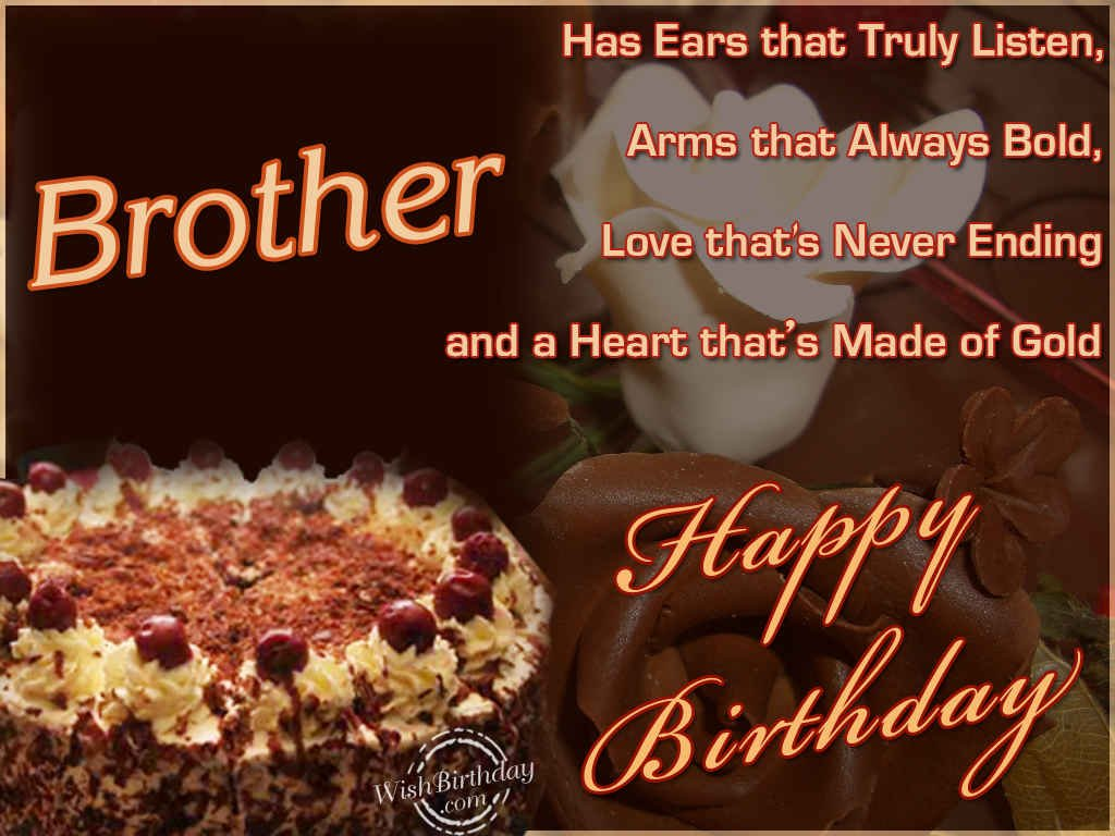Quotes About Birthday Of Brother 31 Quotes