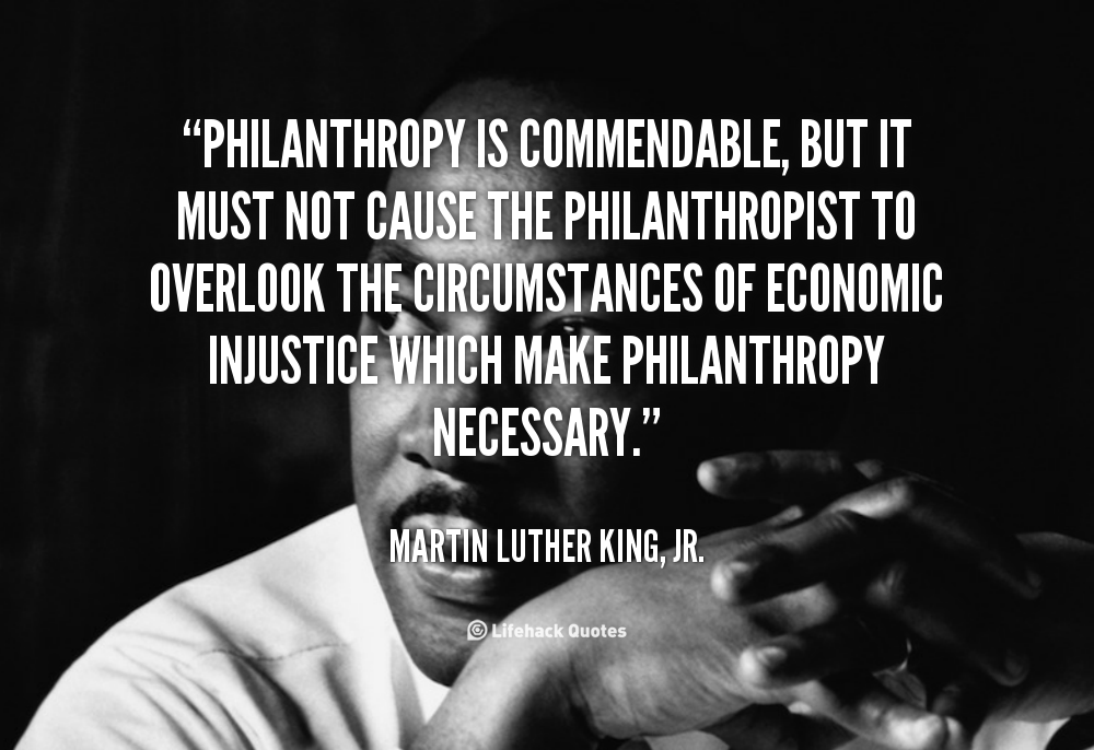 Quotes About Philanthropy 60 Quotes Inspiration Philanthropy Quotes