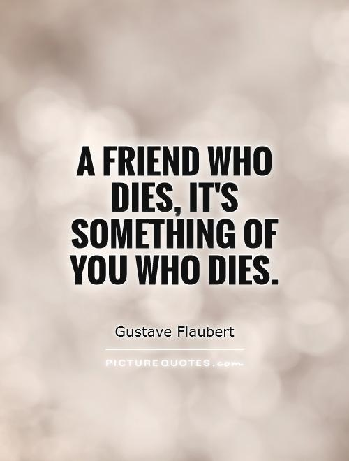 best friends death