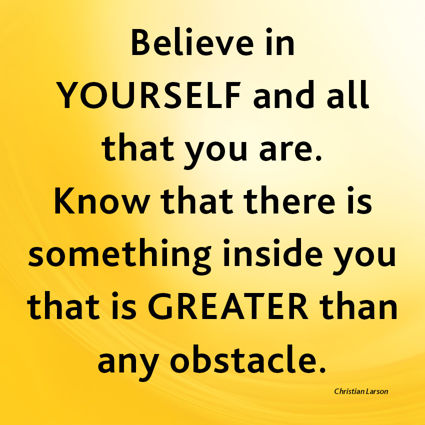 overcoming obstacles and challenges in life with the i can attitude by roger crawford Challenge quotes – inspirational quotes about challenge challenges are everywhere, we can even say that our entire life is a challenge.