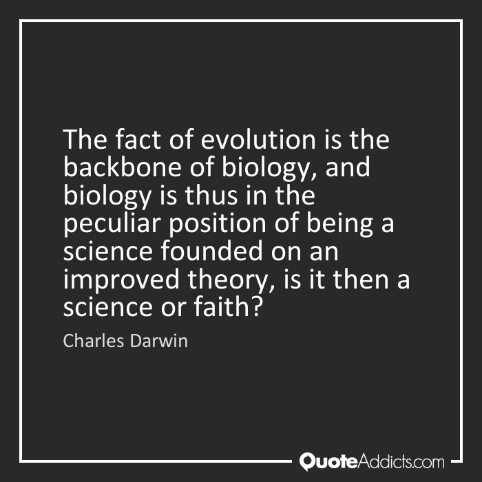 evolution a fact or theory Well, evolution is a theory it is also a fact and facts and theories are different things, not rungs in a hierarchy of increasing certainty facts are the world's data theories are structures of ideas that explain and interpret facts facts do not go away when scientists debate rival theories to explain them.