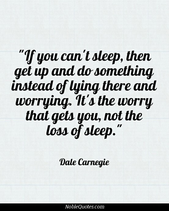 quotes about sleep instead of work