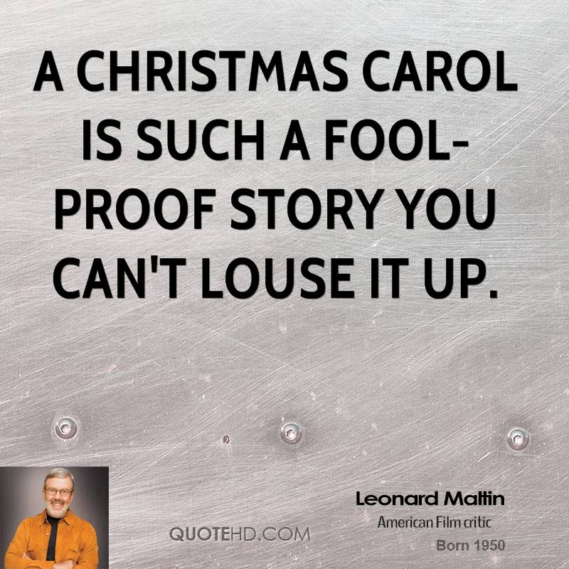 Quotes About Christmas Carol (50 Quotes