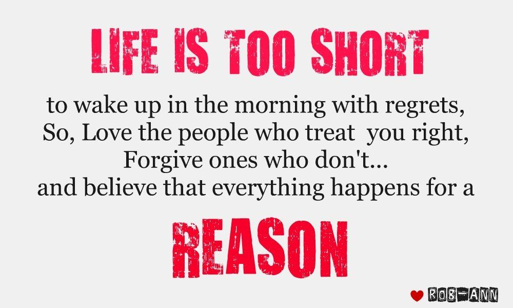 Life's Too Short Quotes | Quotes About Life Too Short 322 Quotes
