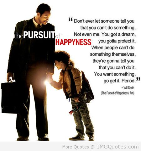 Happiness movie pursuit