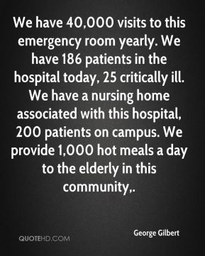 Quotes about Emergency Room (83 quotes)