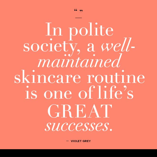 Healthy skin care quotes