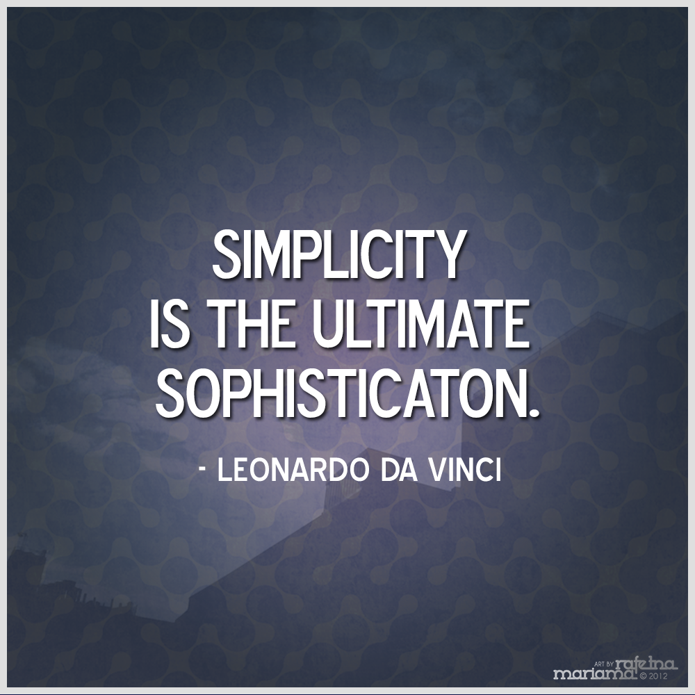 Quotes About Simplicity 804 Quotes