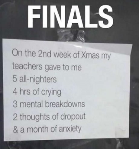 Quotes About College Finals Week 60 Quotes Cool Finals Quotes