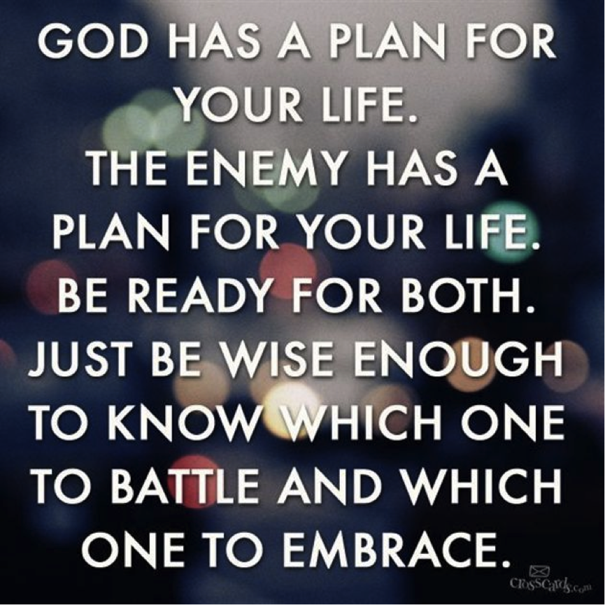 gods plan and purpose for the Seeking god's plan requires faith and walking by faith and not by sight and this episode will help you to do just that - i pray this week's podcast episode, youtube video, and blog post gave you the encouragement you needed to walk in truth and helped build your faith if it did please leave me a.