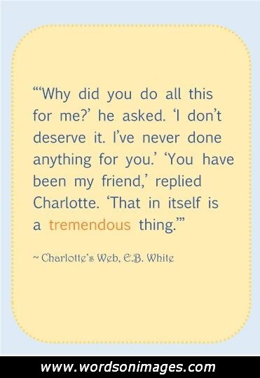 charlotte s web quotes