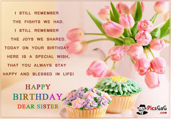 Quotes About Birthday Sister 34 Quotes