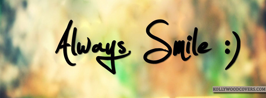 Smile facebook cover photos